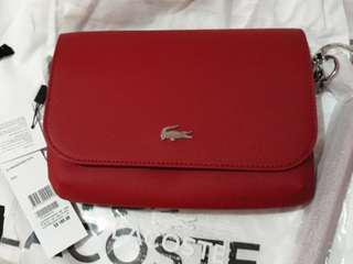 Original Lacoste Red Sling Bag (NF2531DC-A62-Daily Classic)