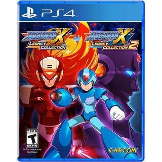 [NEW NOT USED] PS4 Mega Man X Legacy Collection 1 / 2 Sony Capcom Action Games
