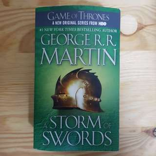 Game of thrones book three