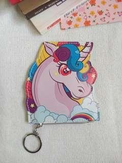 Unicorn Coin purse wallet 01