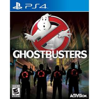 [NEW NOT USED] PS4 Ghostbuster SONY PLAYSTATION Activision Action Games