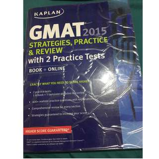 GMAT strategies practice & review