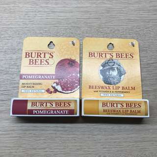 🚚 🌈💕 New Burt's Bees Lip Balm