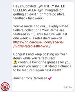 Thanks Carousell! 😍
