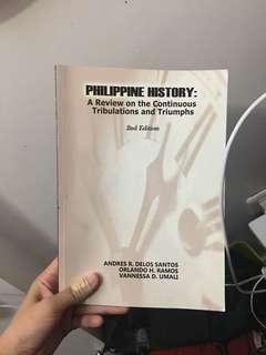 PHILIPPINE HISTORY by Andres R. Delos Santos