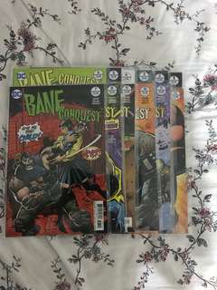 Dc comics bane conquest #1-12 complete run