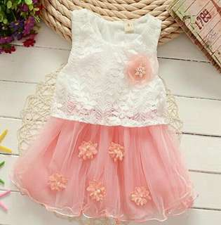 Baby Girl 👗 floral lace (9m-4y)