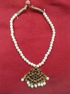 Traditional Indian necklace