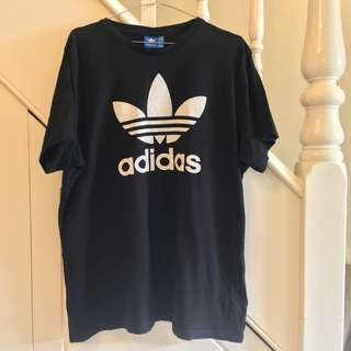 Black Adidas Logo T-Shirt