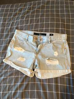 Riders Distressed Jeans Shorts