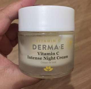 AUTHENTIC Derma E Vitamin C Intense Night Cream