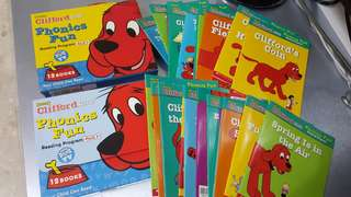Clifford Story book for Grade 5 n 6