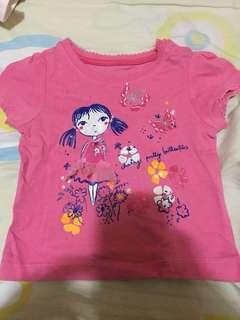 Baby tshirt for baby girl