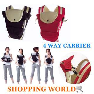 4 WAY BABY CARRIER WITH BOX HIGH QUALITY