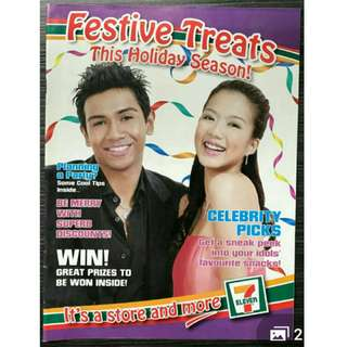 (LOOKING FOR) rui en and taufik 7-11 magazine cover #blessing