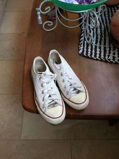 Original Converse white shoes