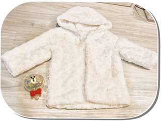 ❄️Girl Fur Jacket (white)