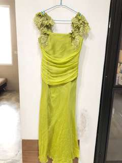 Party Green Dress