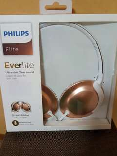Brand new Philips foldable headphones