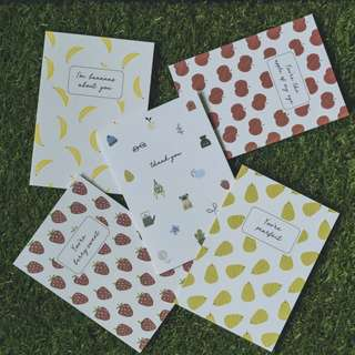 Complimentary Kikki K card for every bouquet purchased