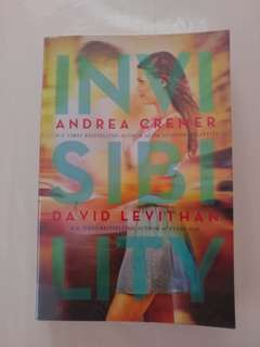 Invisibility by David Levithan & Andrea Cremer