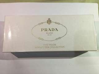 Prada Miniatur Collection