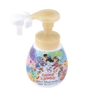 "東京迪士尼樂園歡慶35週年,限量推出超夢幻「米奇泡泡洗手乳」 Tokyo Disneyland celebrates its 35th anniversary, limited edition of the ultra-dream ""Mickey Bubble Hand Wash"""