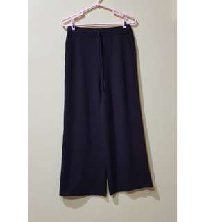 Culottes coklat tua (Celana Kulot)