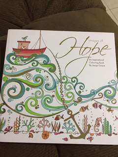 Hope Adult Colouring Book