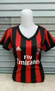 Jersey AC Milan Home Ladies 2017 / 2018 Grade Ori