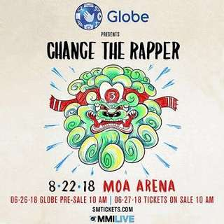 Chance the Rapper @ MOA Arena