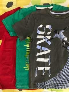 Pack of 3 kids shirt - set A