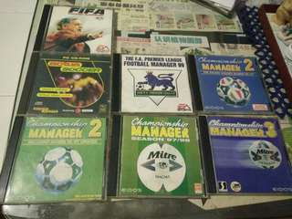 🚚 Soccer related games vcds
