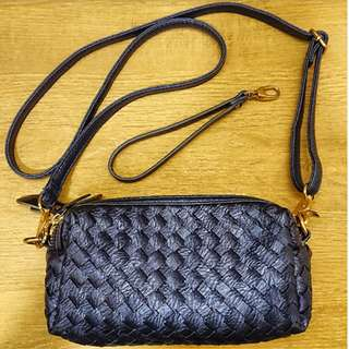 Pouch Bag Woven Lala Style