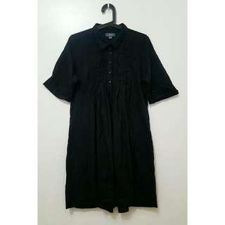 Black Dress Shirt XL with side pockets