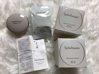 Sulwhasoo Perfecting Cushion SPF50+/PA+++