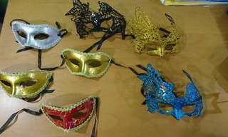 Dressing up masks