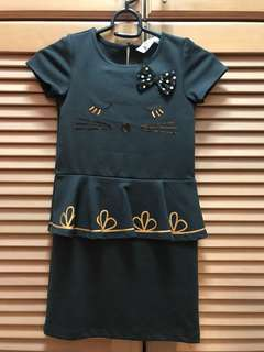 H&M kitty black dress