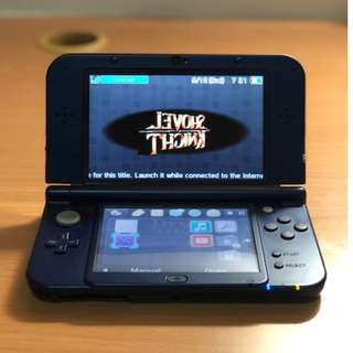 New 3DS XL modded