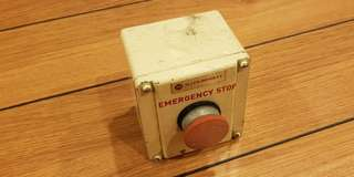 Solid Metal Emergency Stop Button