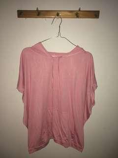 Loushkii Pink Hoodie Shirt