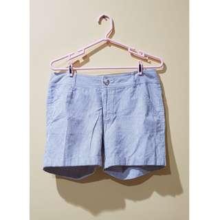 Broken White Striped Shorts (Celana pendek)
