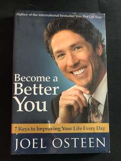 🚚 Becoming a better you by Joel Osteen