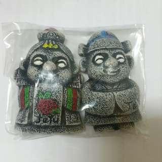 購自韓國 濟州石像磁石貼