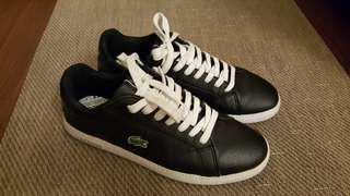 🚚 Lacoste 黑色休閒鞋
