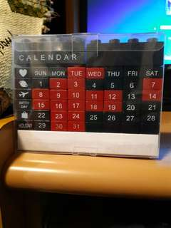 Lego 月曆