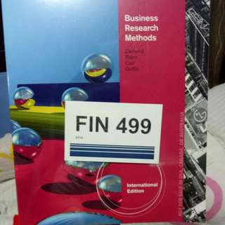 Business research methods 9th Edition