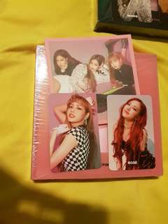 🚚 BLACKPINK 1ST MINI ALBUM SQUARE UP PHOTOCARDS