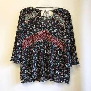 Zara floral top