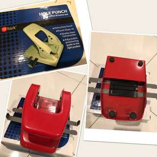 BNIB Attractive Red Hole Puncher